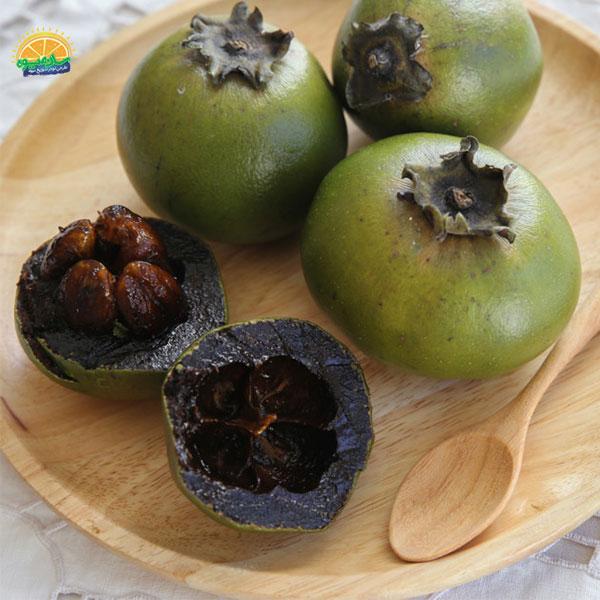 عجیبترین میوههای جهان - خرمالوی سیاه
