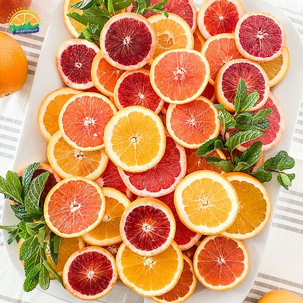 بهترین میوهها برای سلامت قلب: 5. گریپ فروت تر و تازه، عالی برای بیماران قلبی