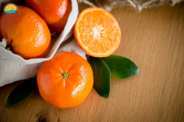 نحوهی انتخاب میوه های پاییزی: نارنگی