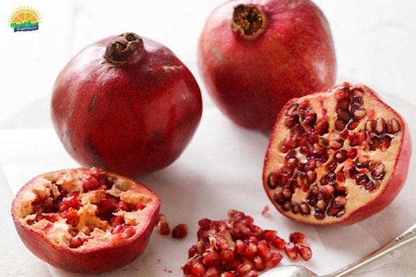 نحوهی نگهداری میوه های پاییزی: انار