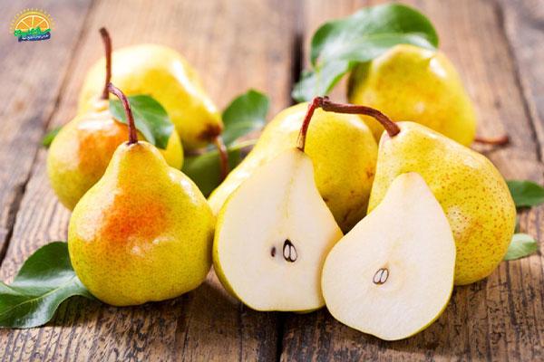 نحوهی نگهداری میوه های پاییزی: گلابی
