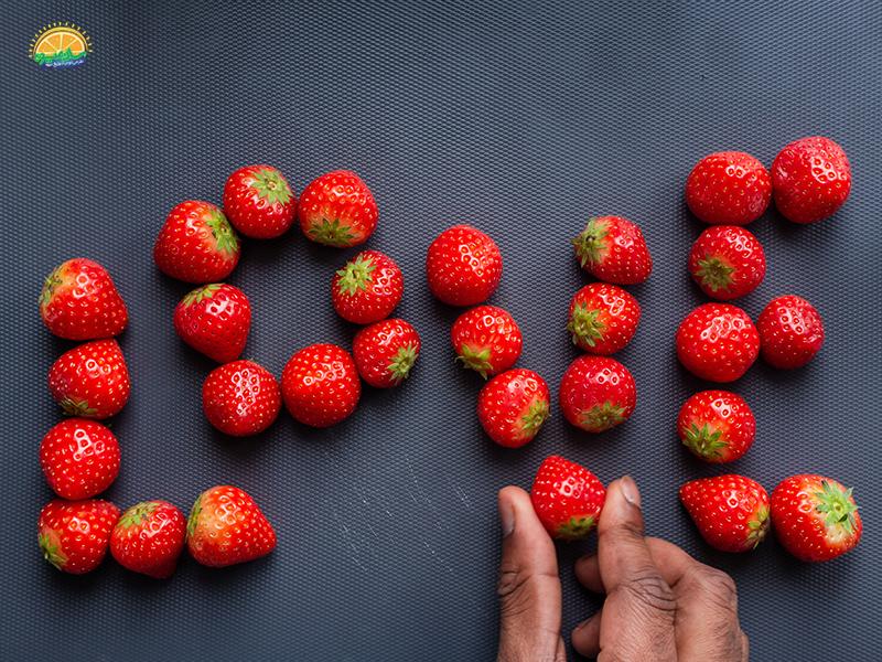 سلامت قلب با استفاده از خواص توت فرنگی