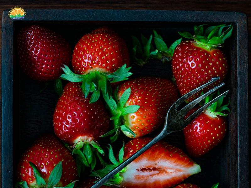 خواص توت فرنگی جنگلی یا وحشی برای سلامت قلب